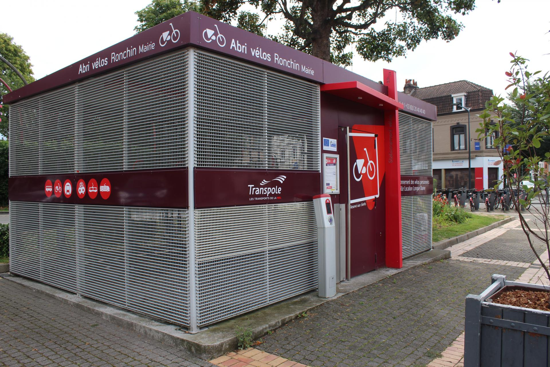 Construire Un Abri A Velo ilevia : enquête sur les abris à vélos | ville de ronchin